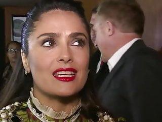 Salma hayek naked shower video Salma hayek face