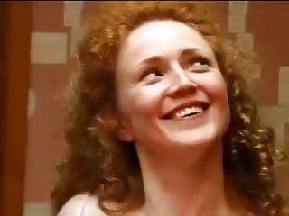 Womens screaming orgasms Screaming redhead slut double teamed