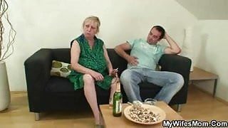 Wife shops - her stepmom humps