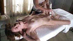 Multiple orgasmic massage with magic wand