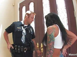 Gay movies bad cop Bad girl mason moore gets fucked by a cop