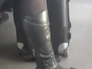 Candid matures in nylons Candid lady in tights