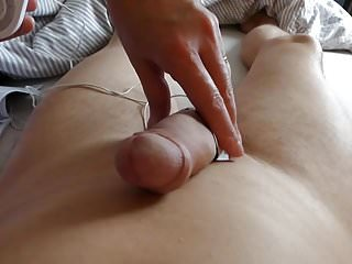 Penis electro cock stimulation Mistress fuck with full finger in cock and electro balls