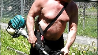 Big hairy Gay men man muscle bear Muscle daddy Bodybuilder