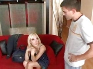 Tiny tit teens pictures Tiny tit young blonde fucks hard for the money - lily