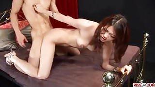 Soft 69 sex with Ibuki before a good hardcore