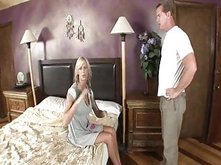 Wife fucks husband coworker - Wife makes cuck husband service coworkers big cock