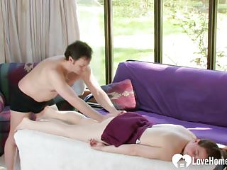 Simple homemade vagina A simple massage turned into something kinky.mp4