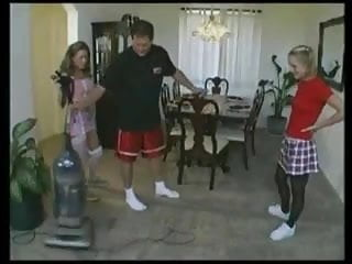 Young maids cheerleaders sports sex fuck Young maids fuck the boss