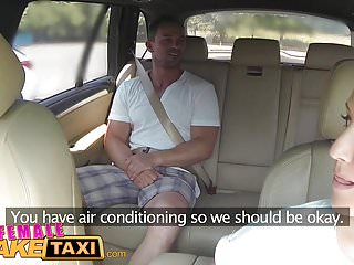 Female wanting cyber sex - Female fake taxi massive tits cabbie wants cock