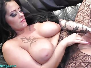 Porn stars real names - Busty babe ashley cum star in a real gangbang
