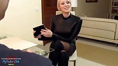 HeiBe Blondine unglaublicher Blowjob