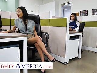 Hairy avery Naughty america - avery black jenna rain fuck in office