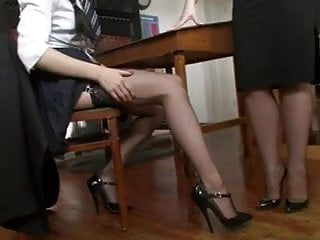 Stockings and lesbians - An apple for teacher
