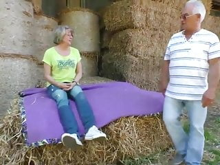 Farmer sex with - Amateur fucking elderly farmers next to cows