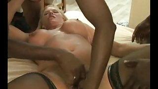 Wife Creampie BBC Gangbang