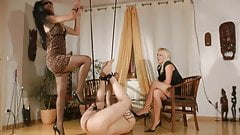 Hot dominas torture slave 2