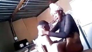Mzansi teen fucked hard