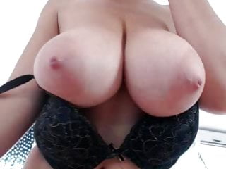No registration sex cams - Big titted brunette sucks plays with dildo on cam