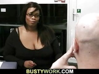 Huge black ass fucking doggystyle Black bbw boss is doggystyle fucked