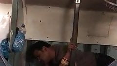 Indian hot couples fucking on train (hidden cam)