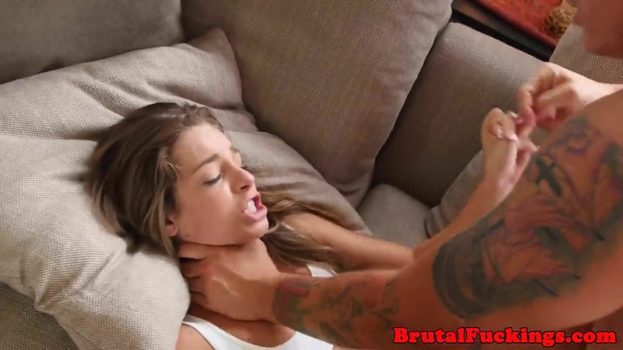 Forced Sex Babe petite babe roughfuckedstepbrother