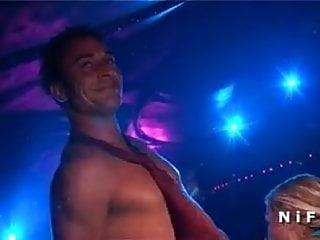Talladega nights boobs Big boobed blonde fucked in public in a night club