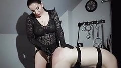Goddess pegging slave