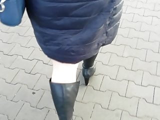 Voyeur poland - In nylon ff stockings for work. poland wife.