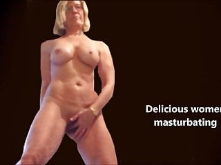 Blond women masturbating naked - Delicious women masturbating
