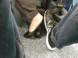 Cincinnati in job summer teen - Candid smelly feet and soft soles in flats in job - i touch