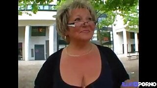 French chubby granny