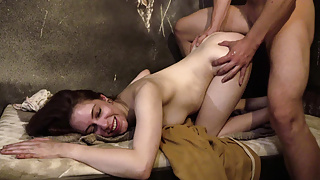 Perverted Sister Trying Anal with not Brother