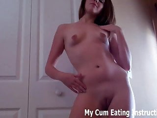 Fuck it all up Cum in your hand and lick it all up