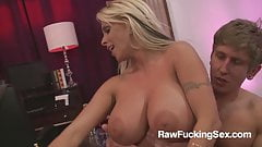 Raw Fucking Sex - Blonde Hayley Halston Sex Class
