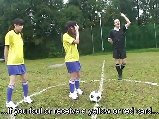Japanese lesbian nudists Subtitled enf cmnf japanese nudist soccer penalty game hd