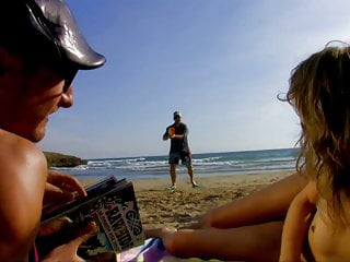 Beach piss video Skinny mature milf piss on a guy while he fucks her anal
