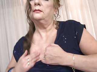 Mature lady sex with young boy - Hairy granny gets taboo sex with young boy