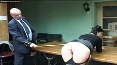 A good caning for smoking
