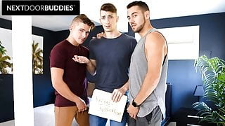 Sexy Dante Colle Barebacks New Roommate With BF