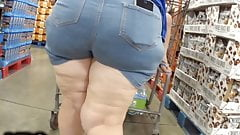 Granny PAWG thick Cellulite thighs