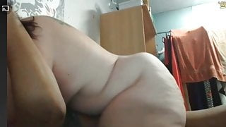 Blubber Butt Riding Cowgirl