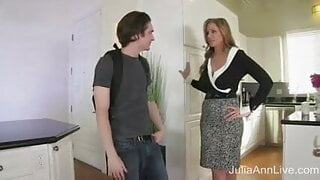 Stepmother loves using  her strapon