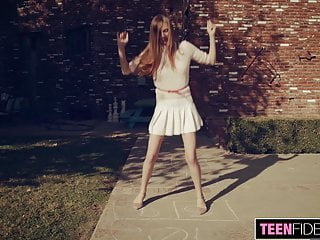 Teen westward bound Teenfidelity skinny teen ava bound and creampied