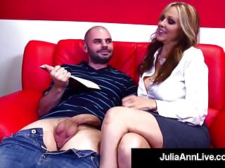 Spewing penis Hot sex hungry milf julia ann fucks her cum spewing student