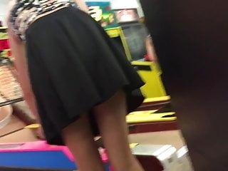 Up-skirt teen Cutie up skirt