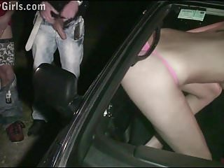 Free public sex dogging porn - Extreme public sex gangbang with hot kitty jane