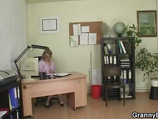 Office woman likes the dick Mature office woman fucks her employee