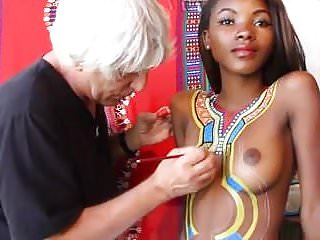 Erotic body paint galleries - Body paint madagascar