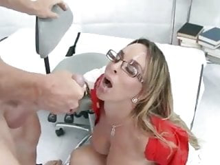 Halston anal Gorgeous holly halston gets messy facial cumshot